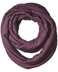 Columbia Going Out Infinity Scarf - Purple