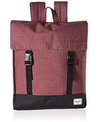Lyst - Herschel Supply Co. Banana Leaf Print Backpack in Black for Men 2014f2b2dc