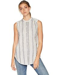 Lucky Brand - Stripe Tunic Top - Lyst
