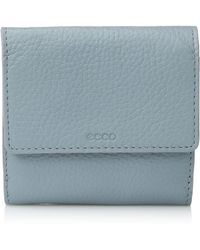 Ecco Sp 3 French Wallet - Blue