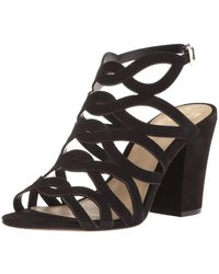 Vince Camuto Norla Block Heel Sandal (women) - Black