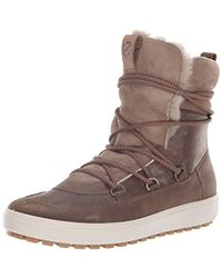 Ecco Soft 7 Tred Mid Sneaker - Brown