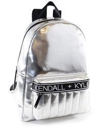 Kendall + Kylie Linz Silver - Metallic