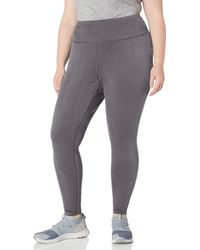 Amazon Essentials Plus Size Performance High-Rise Full-Length Legging Leggings-Pants - Grigio