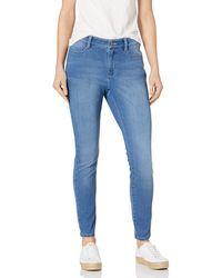 Amazon Essentials Standard Skinny Stretch Knit Jegging Leggings-Pants - Blu