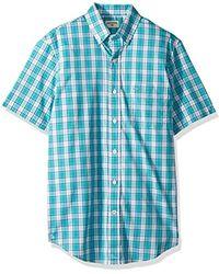 Dockers - Short Sleeve Button-down Comfort Flex Shirt - Lyst