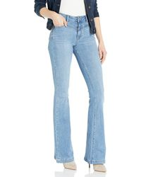 PAIGE Bell Canyon High Rise Flare Jean - Blue