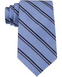 Tommy Hilfiger Stripe Tie - Blue