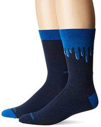 DIESEL - Ray 2 Pack Printed Socks - Lyst