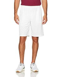 Mesh Shorts With Pockets, Amazon Exclusive White