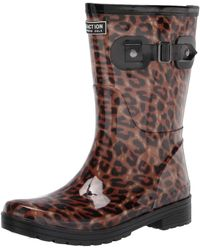 Kenneth Cole Reaction Mid Height Rain Boot - Brown