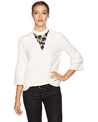 Cooper & Ella Heloisa Party Top - White