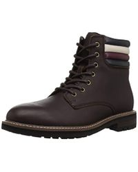 cade097da Lyst - Tommy Hilfiger Harlan Boots in Brown for Men