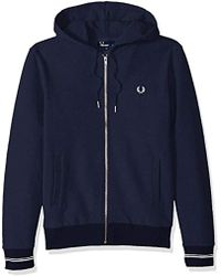 Fred Perry - Loopback Hooded Sweat - Lyst