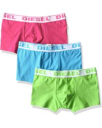 DIESEL 3-pack Shawn Stretch Boxer Trunk - Green