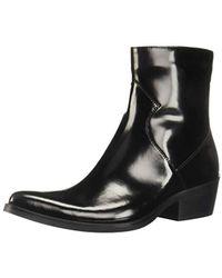 Calvin Klein Ck Jeans Alden Ankle Boot - Black