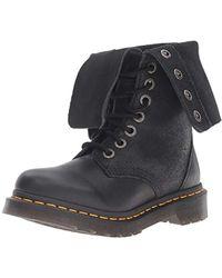 Dr. Martens - Hazil Boot Black Virginia Leather Fashion - Lyst
