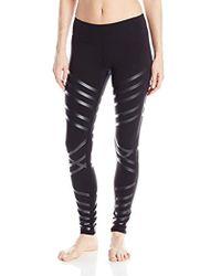189bab52588b4c Alo Yoga Airbrush Legging in Black - Save 12% - Lyst