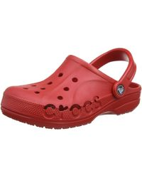 Crocs™ Baya, Zuecos Adulto, Rojo