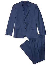 Tommy Hilfiger Slim Fit Performance Suit With Stretch - Blue