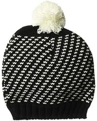 Wigwam - Sporo Knit Beanie Acrylic Pom Hat - Lyst