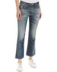 AG Jeans - Jodi Crop Jean - Lyst