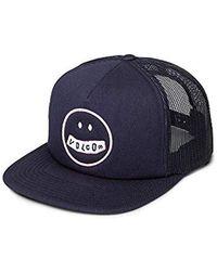 Volcom Stonar Waves Trucker Hat - Blue