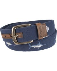 Columbia Comfort Stretch Casual Fabric Belt - Brown