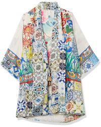 Johnny Was Kimono - Blue