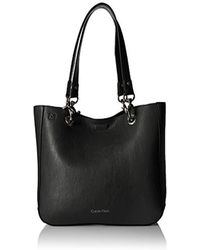 Calvin Klein - Unlined Novelty Tote - Lyst