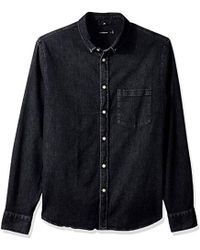 106c1a35474 Lyst - J.Lindeberg Mens Daniel Denim Shirt in Blue for Men
