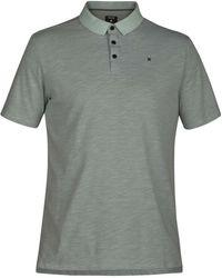 Hurley Nike Dri-fit Short Sleeve Lagos Polo - Green