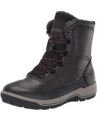Ecco Trace Lite Mid Hydromax Water-resistant Winter Snow Boot - Black