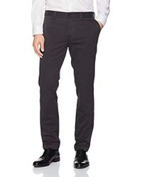 d49ecb96bd Lyst - J.Lindeberg Structured Linen Dress Pants in Gray for Men