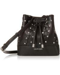 Calvin Klein Gabrianna Mini Bucket - Black