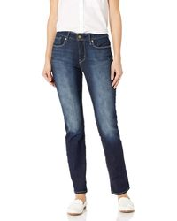 Signature by Levi Strauss & Co. Gold Label Totally Shaping Slim Straight Jeans - Blue