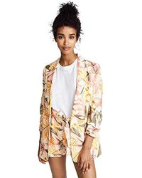 Joie - Kishina B Patterned Blazer - Lyst
