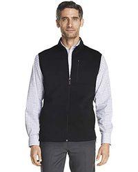 Izod - Premium Essentials Fleece Vest - Lyst