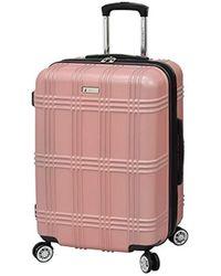 "London Fog Kingsbury 25"" Spinner Luggage - Multicolor"
