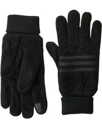 Levi's Suede Glove With Touchscreen Finger Tips - Black