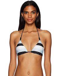 ViX - Sea Glass Loop Tri Bikini Top - Lyst