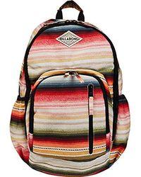 Lyst - Billabong Roadie Backpack in Black 688abdb445