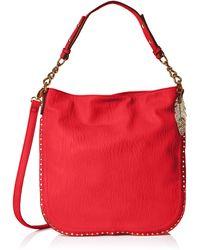 Jessica Simpson Misha Convertible Hobo - Red