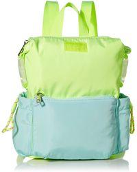 Madden Girl Nylon Rectangle Backpack - Green