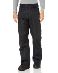 Volcom Carbon Ergo Relaxed Fit Snowboard Pant - Black