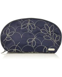 LeSportsac City Large Oxford Cosmetic - Blue