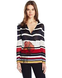 Desigual - Bego Flat Knitted Thin Gauge Pullover - Lyst