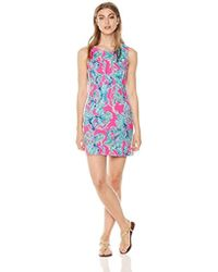 1f0cb848 Lilly Pulitzer Mila Shift (multi Sparkling Sands) Dress in Blue - Lyst