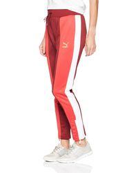 PUMA Retro Track Pants - Red