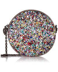 Betsey Johnson - Rock On Circle Bag (silver) Handbags - Lyst